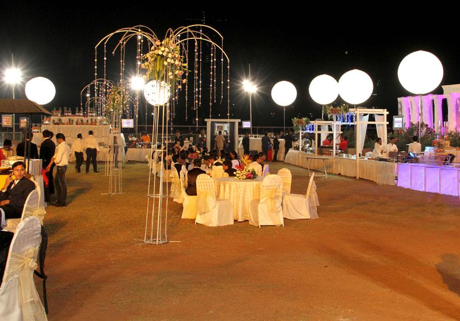 Weddings at race course mumbai venue decoration jess ideas dinner area with seating arrangement junglespirit Gallery