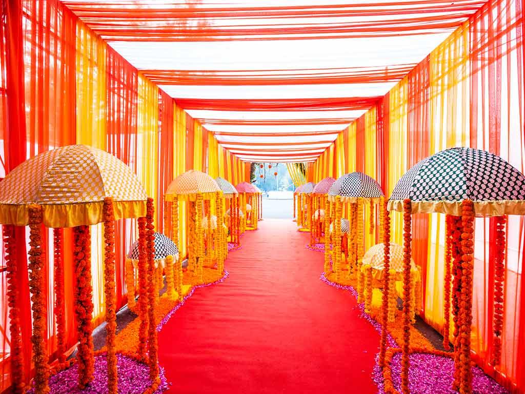 Weddings at kalidas ground mulund venue decoration jess ideas floral passage by jessideas at kalidas junglespirit Choice Image